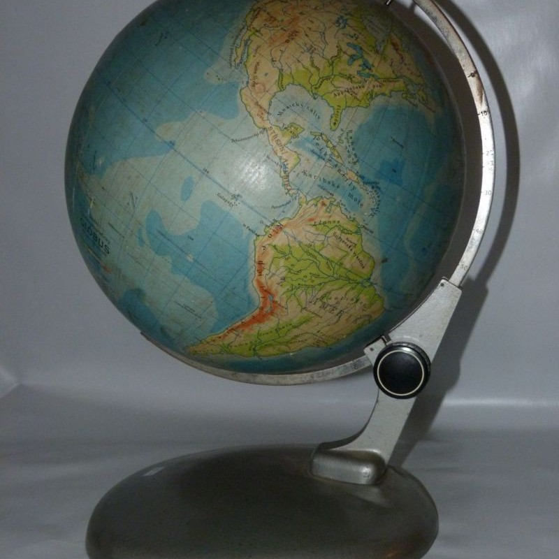 Dizajnový globus 1953