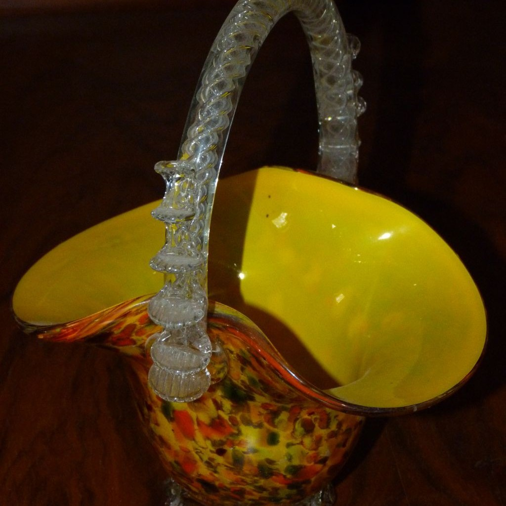 Košík sklo