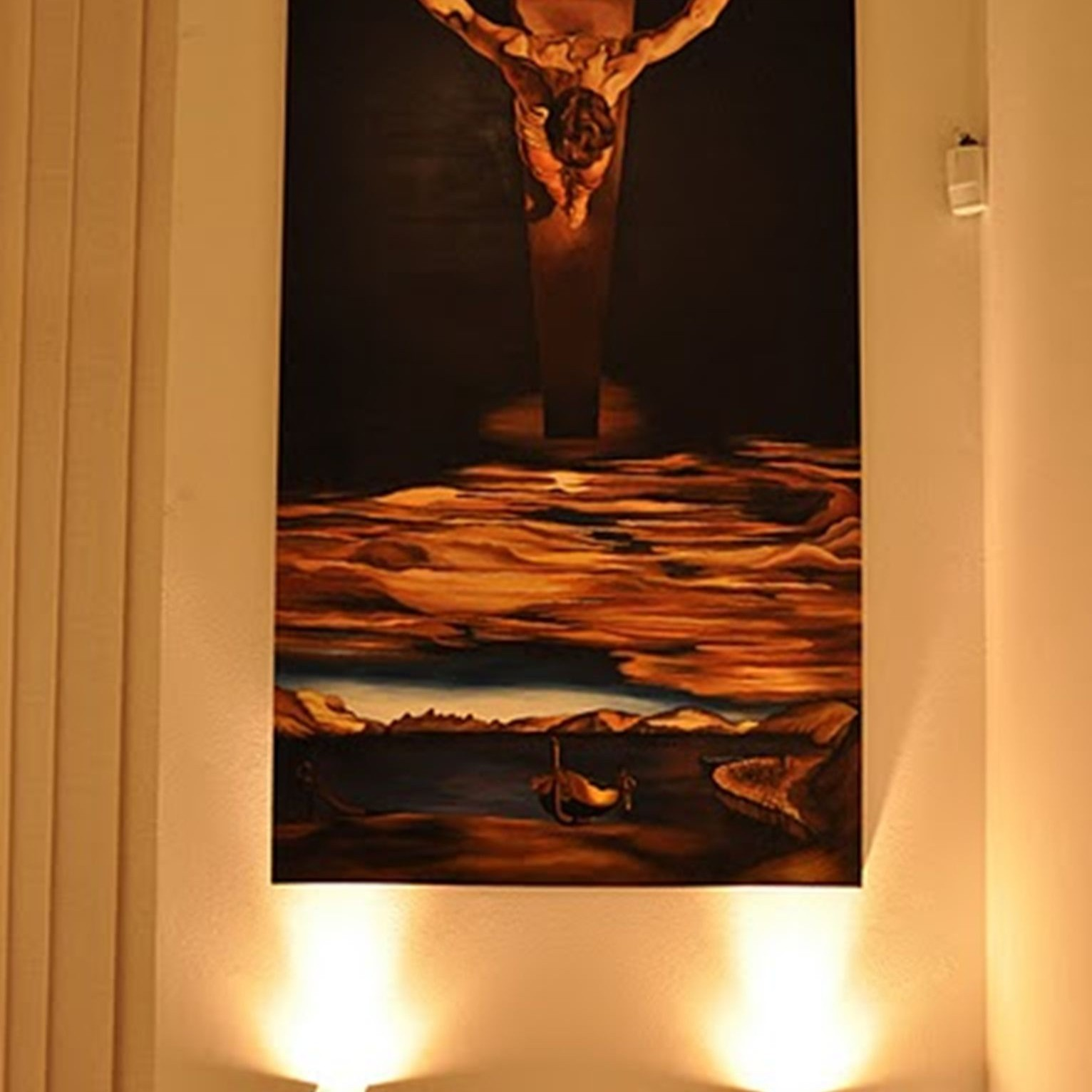 Obraz - Christ of saint john of the cross - 200cm x 100cm