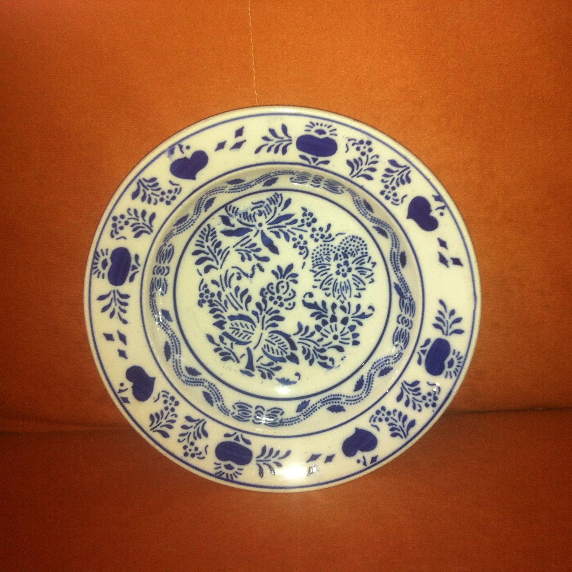 Ozdobné taniere - Modranská keramika