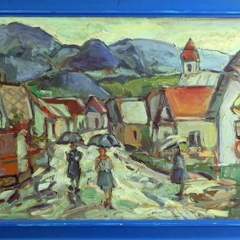 Predám obrazy Akad. mal. Štefana Pruknera