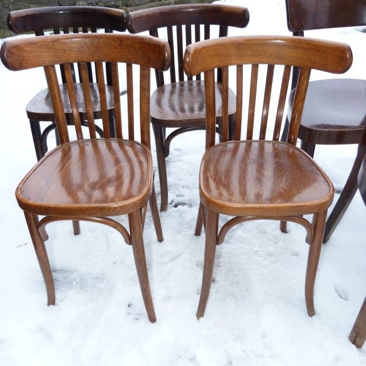 Retro stoličky Thon 4ks