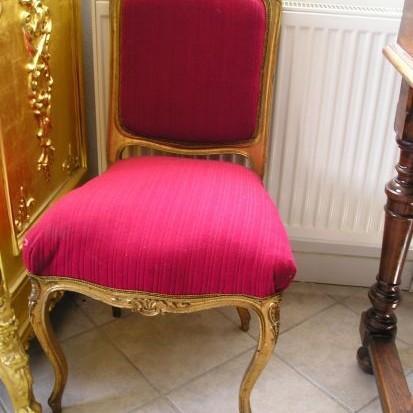 Rokokové stoličky 2ks okolo r.1780