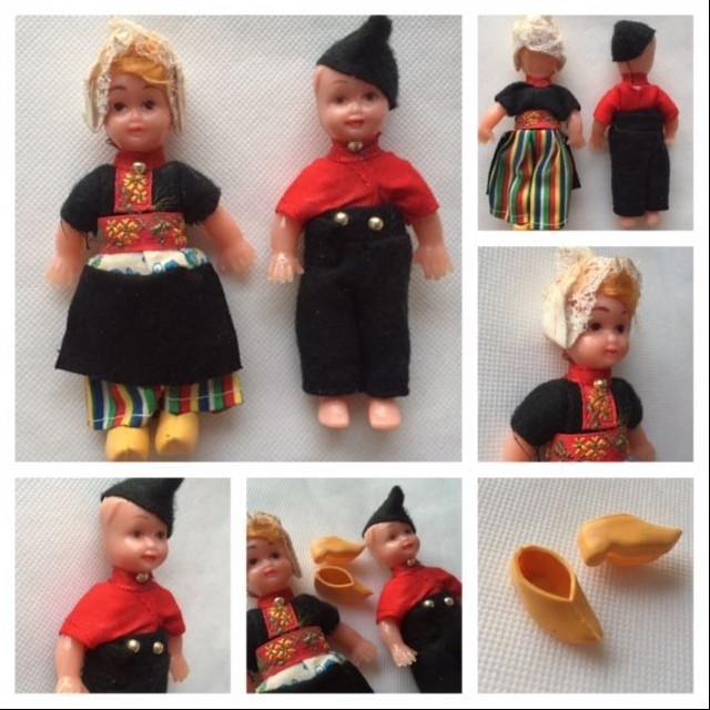 Staré Zberateľské Bábiky Panenky HOLANDSKO (c1960)