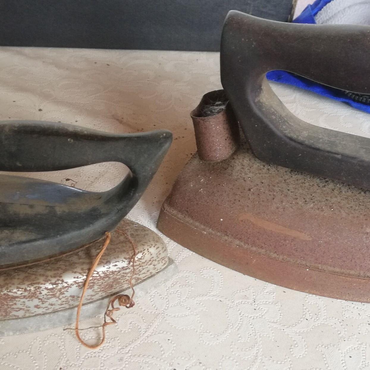 Staré žehličky