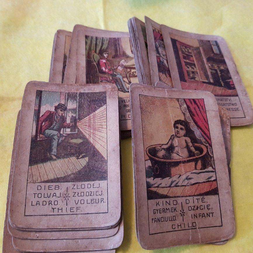 starožitne karty