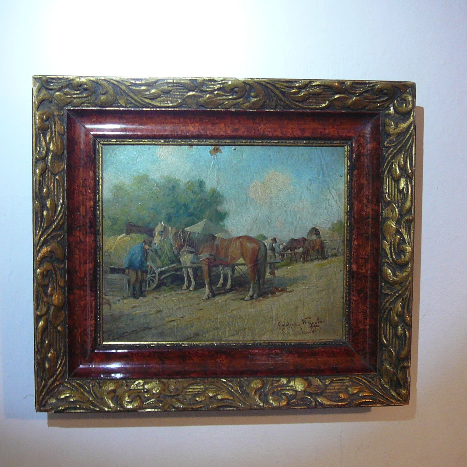 Starožitný obraz: Gyula Németh Guttaházy
