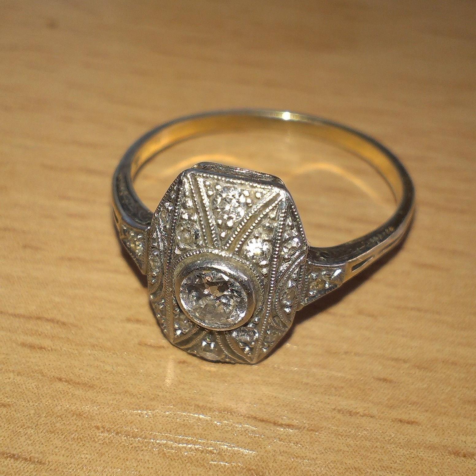 Starozitny prsten