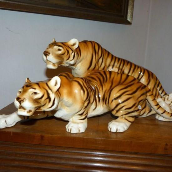 Súsošie Tigre Art deco - B