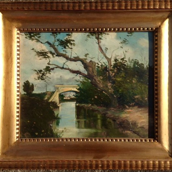 Szontagh Tibor - Original old painting